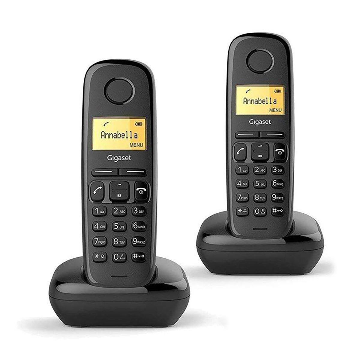 Gigaset A170 Dect Duo Handset Telephone