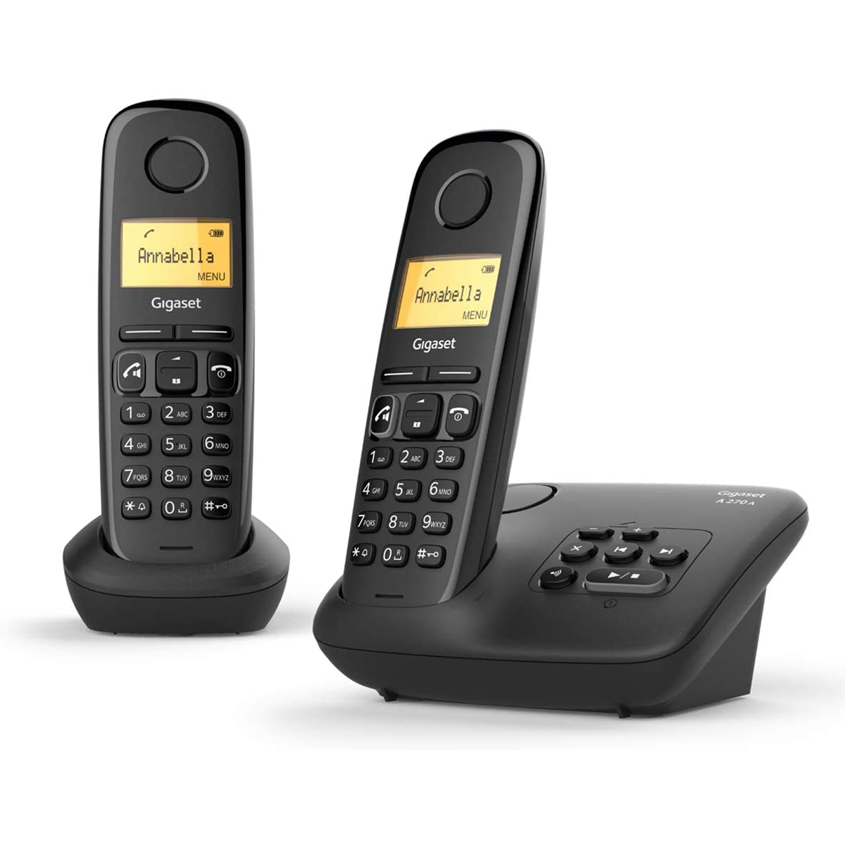 Gigaset A270A Dect Duo Handset telephone Answer Machine