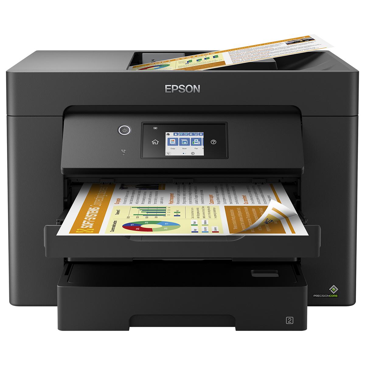 Epson WorkForce WF-7830DTWF A3 Colour Inkjet Multifunction