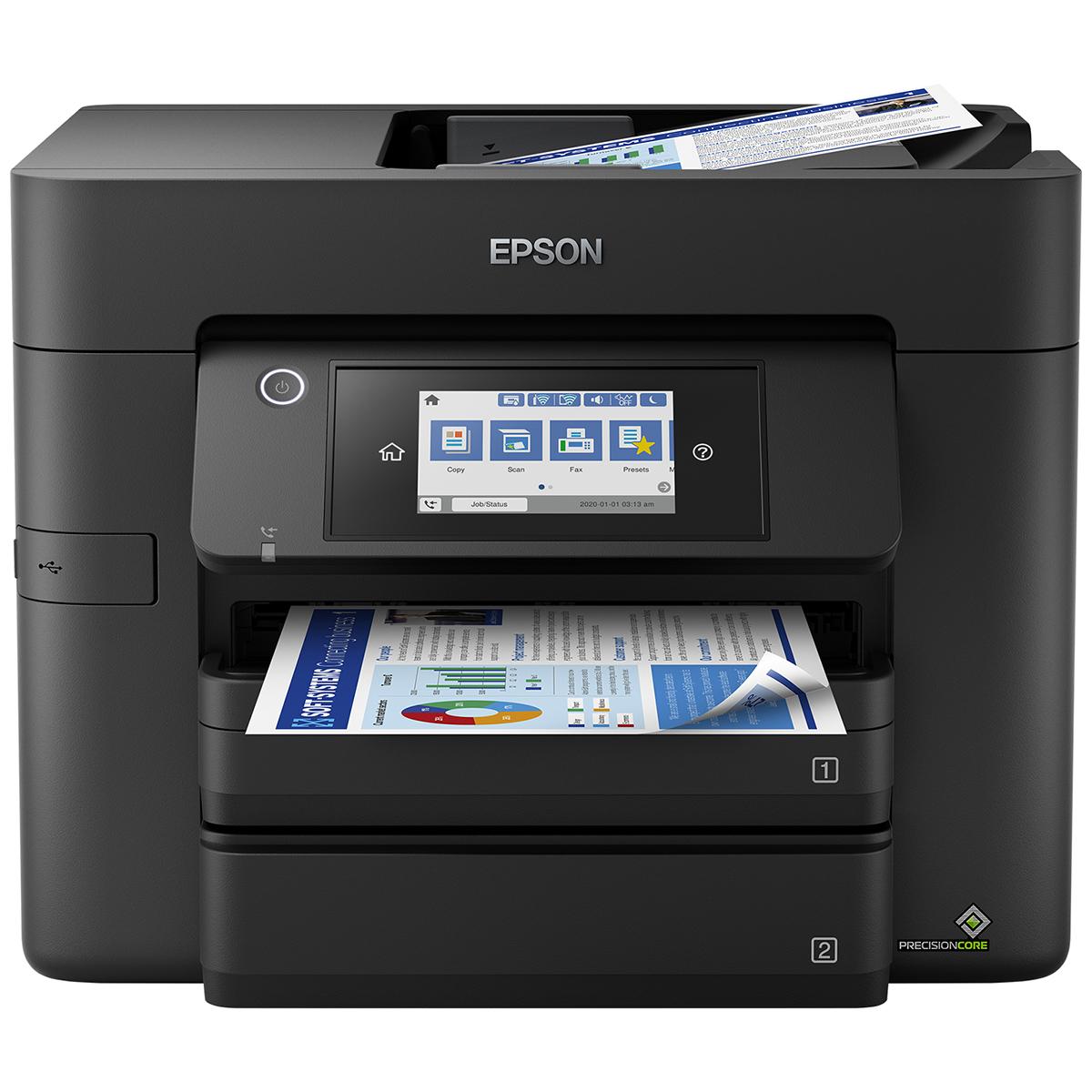 Epson WorkForce PRO WF-4830DTWF A4 Colour Inkjet Multifunction