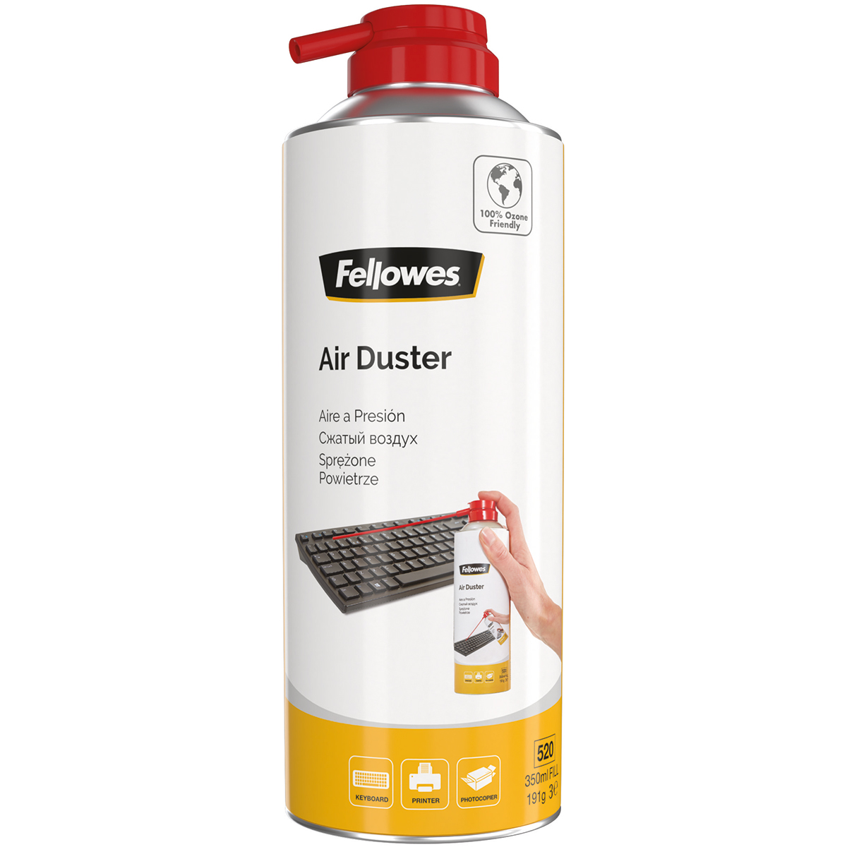 Fellowes 9974905 HFC Free Air Duster 350ml Can