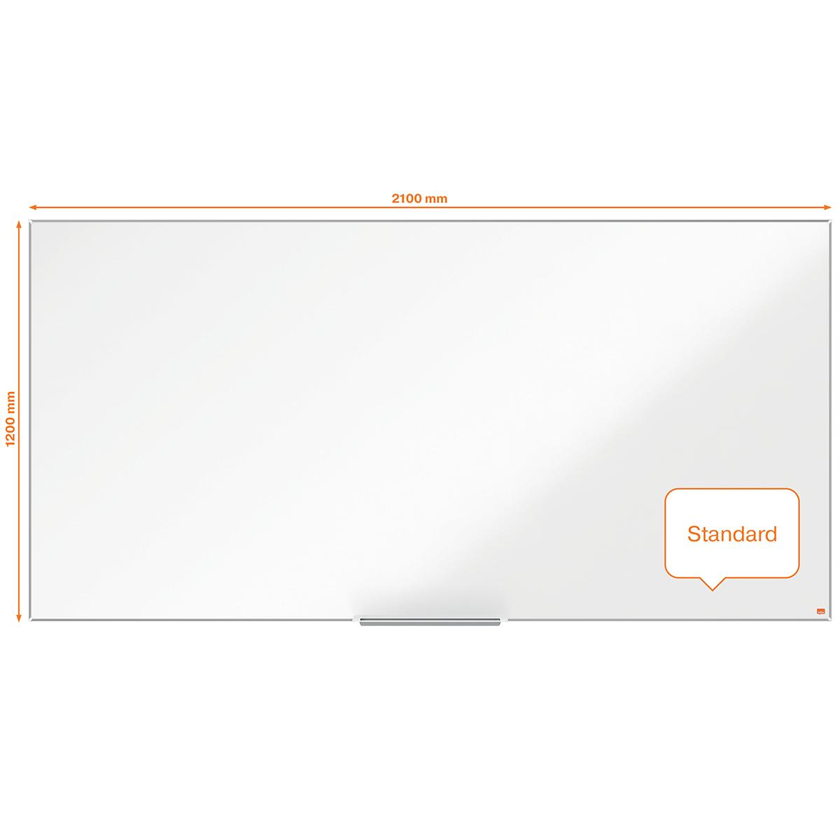 Nobo Impression Pro 2000x1000mm Nano Clean Magnetic Whiteboard