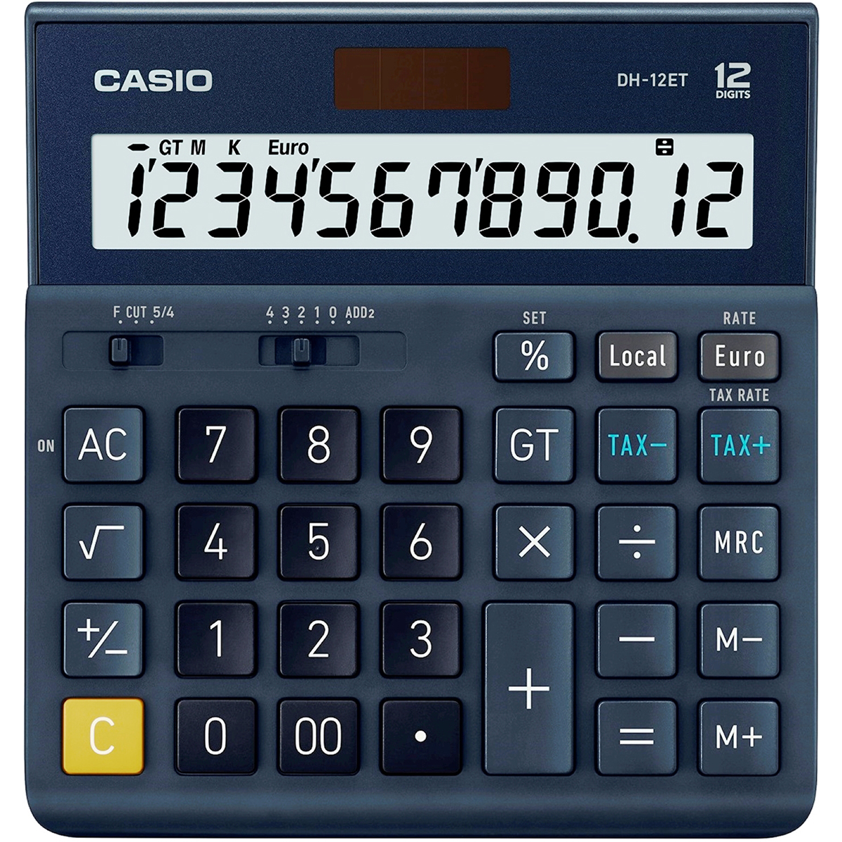 Casio DH-12ET 12 Digit Desktop Calculator