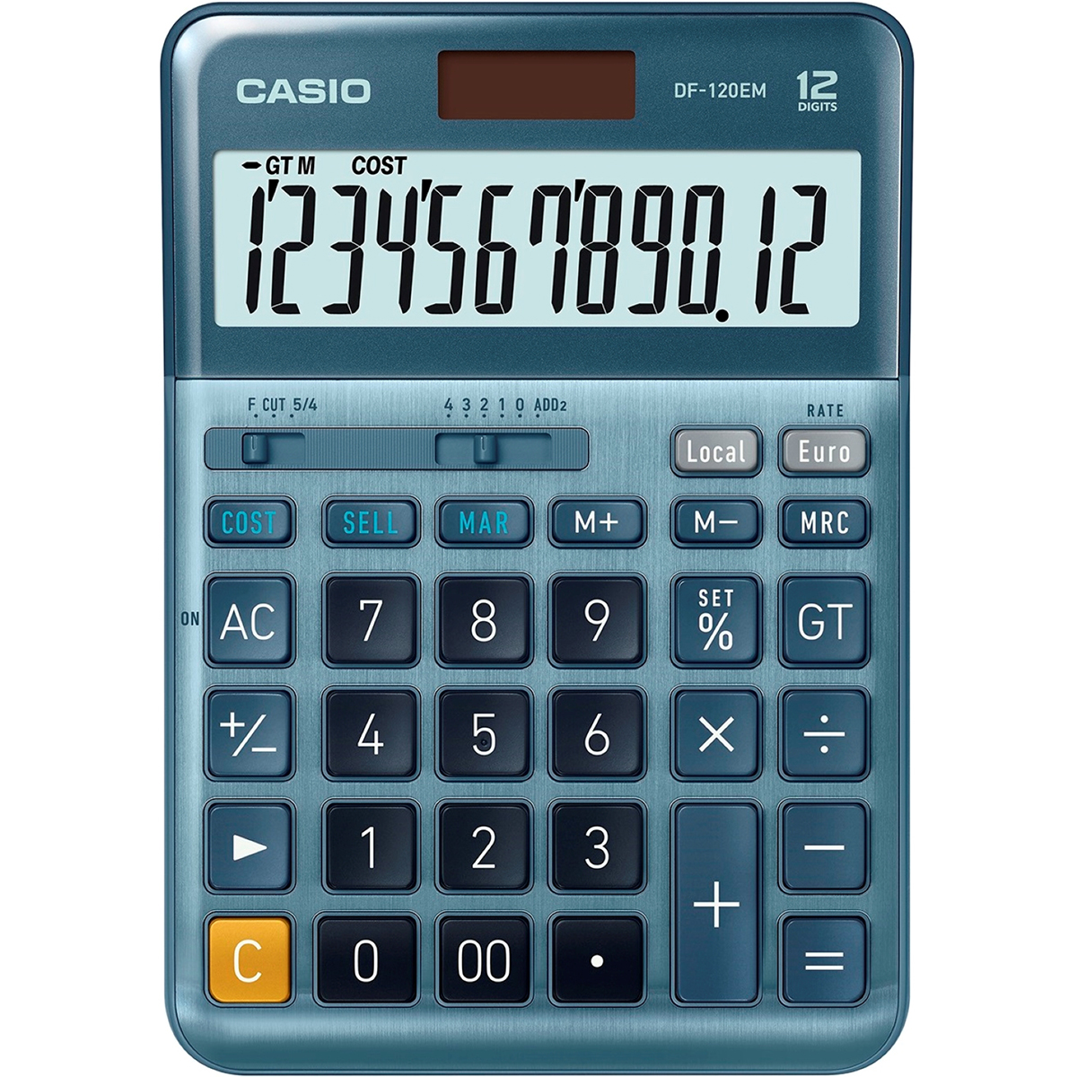 Casio DF-120EM Desktop Tax Calculator