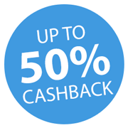 Up to 50% Cashback on selected DYMO labellers! Icon