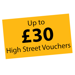 Claim up to £30 High Street Vouchers with Fellowes  Icon