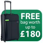 Free Leitz Travel Bag worth up to £180 Icon