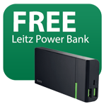 Free power bank with Leitz laminators Icon