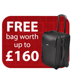 Free Kensington Travel Bag worth up to £160 with Rexel shredders Icon