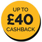 Up to £40 Cashback on Fellowes Shredders Icon