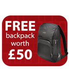 Free Kensington Backpack with Rexel Momentum shredders Icon