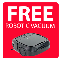 Free Robotic Vacuum Cleaner! Icon