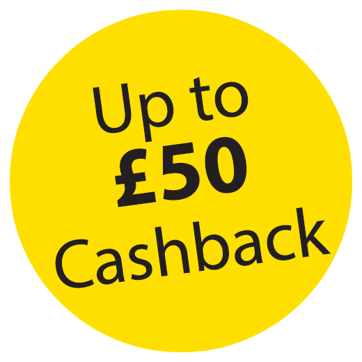 Headsets with up to £50 cashback! Icon