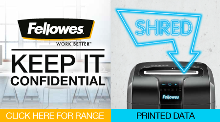 Fellowes Shredders Banner Image