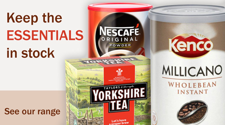 Coffee & Tea Essentials  Banner Image