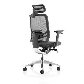 Trexus Ergo Click Mesh Seat Mesh Back Headrest Black KC0297