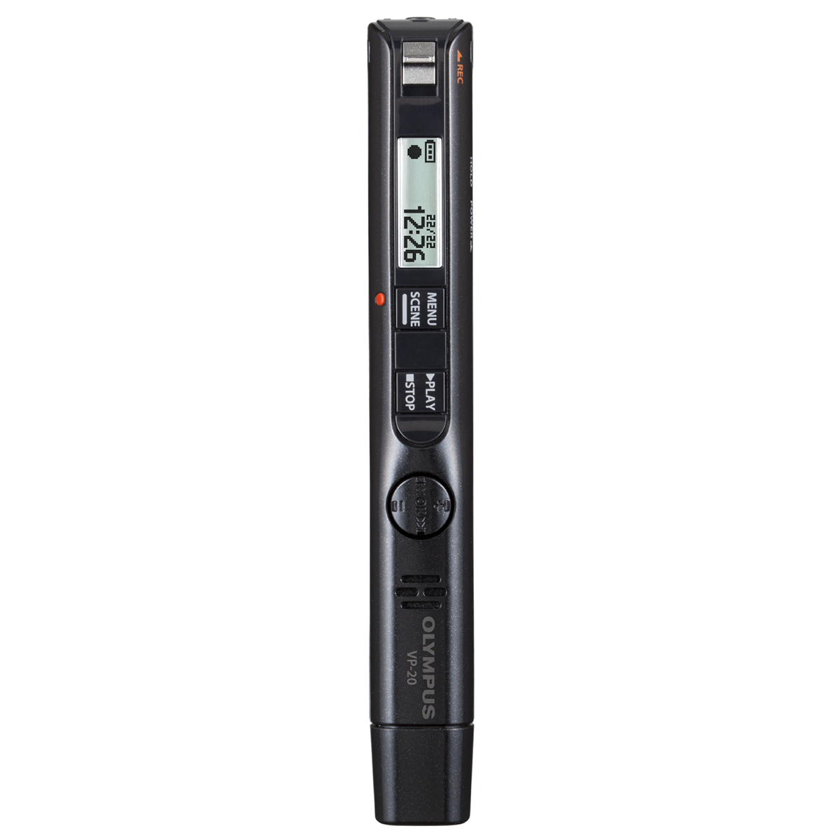 Olympus VP-20 8GB Digital Voice Pen - Black