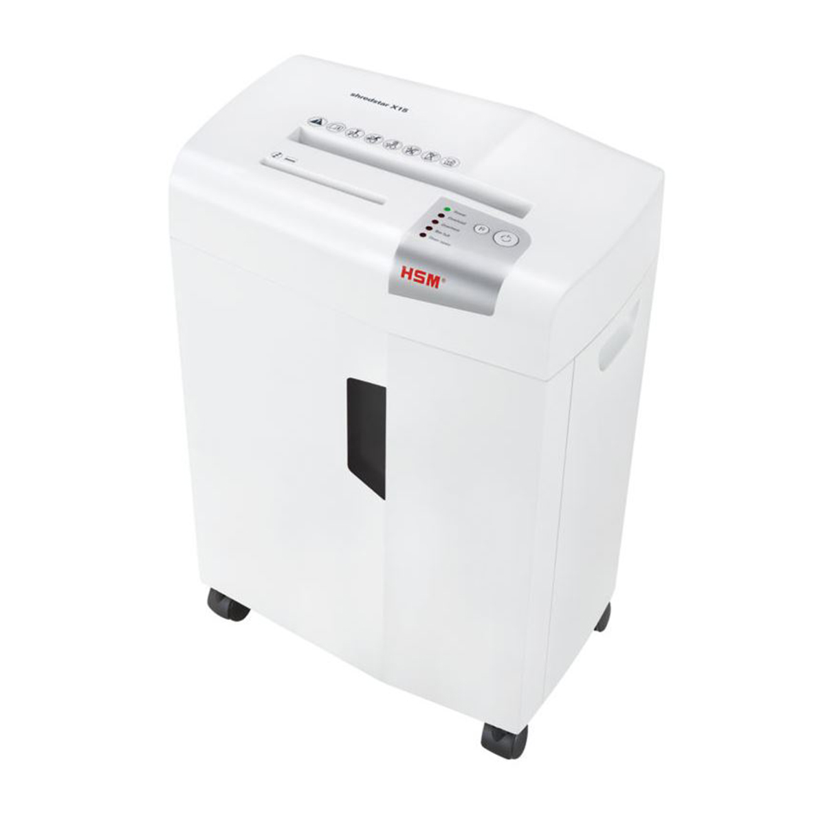 HSM Shredstar X15 4 x 35mm Particle Cut Shredder White