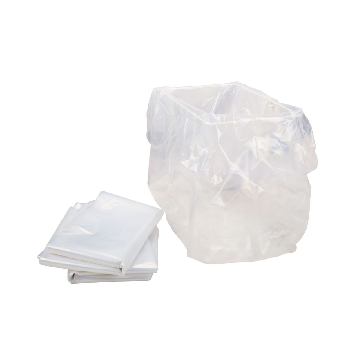 HSM White Shredder Bags 10pk
