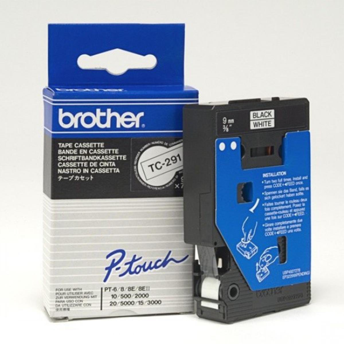 Brother TC291 Black on White