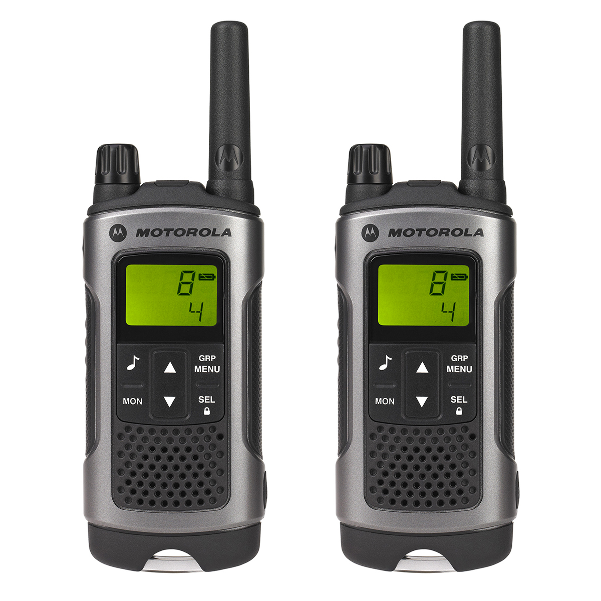 Motorola TLKR T80 Walkie Talkie Radio - 1 Pair