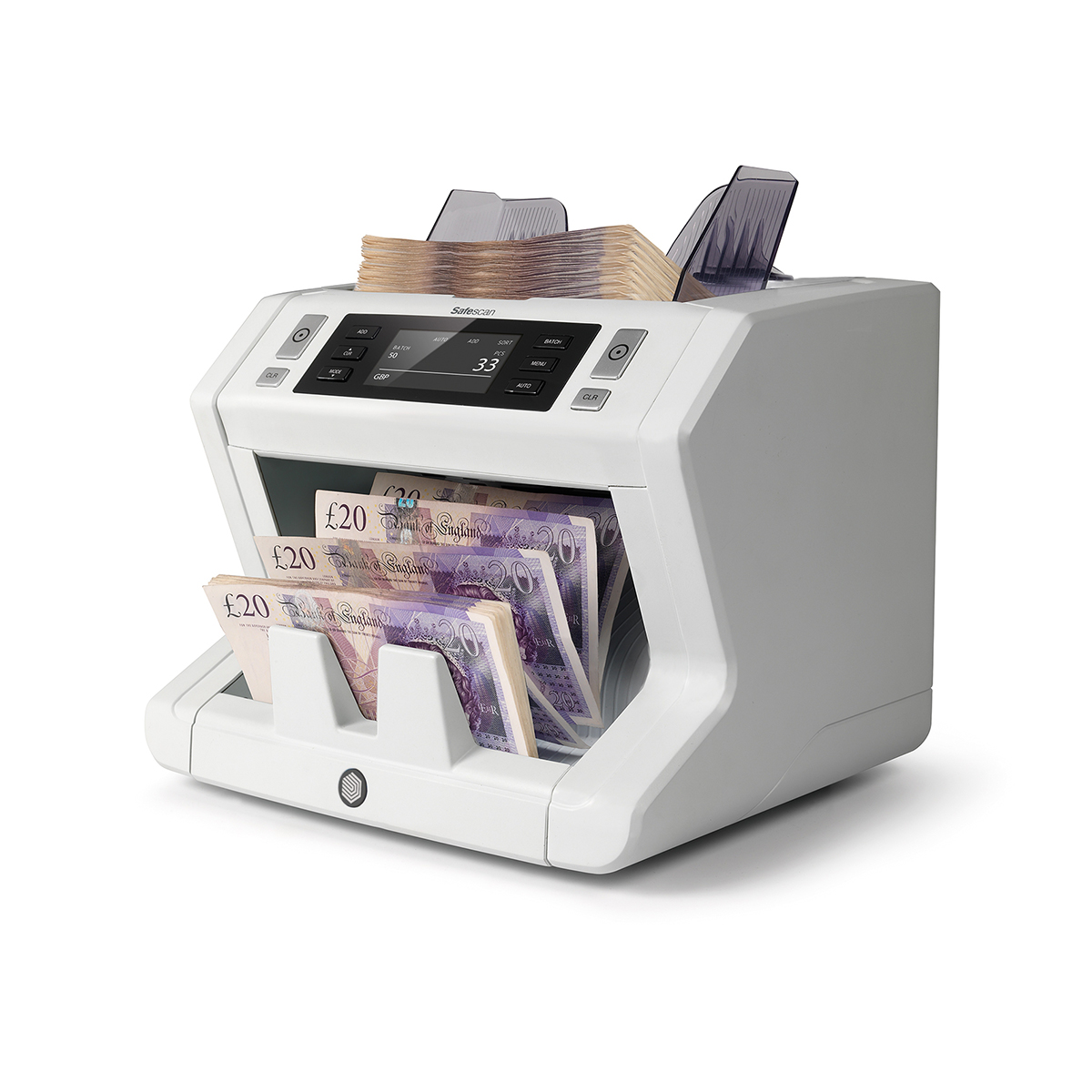 Safescan 2660-S Automatic Banknote Counter with 6 Point Counterfeit Detection