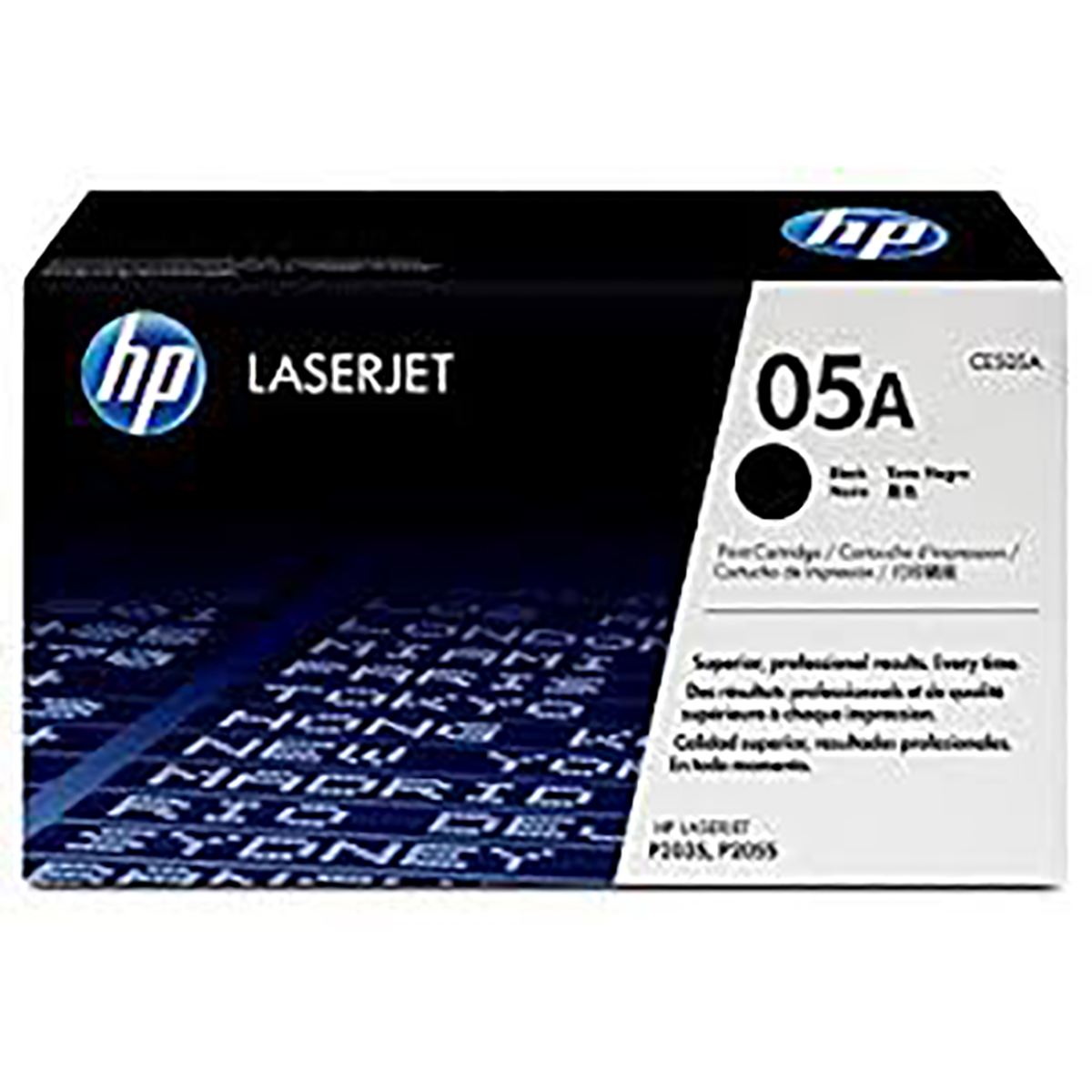 HP CE505A Black LaserJet Toner Cartridge