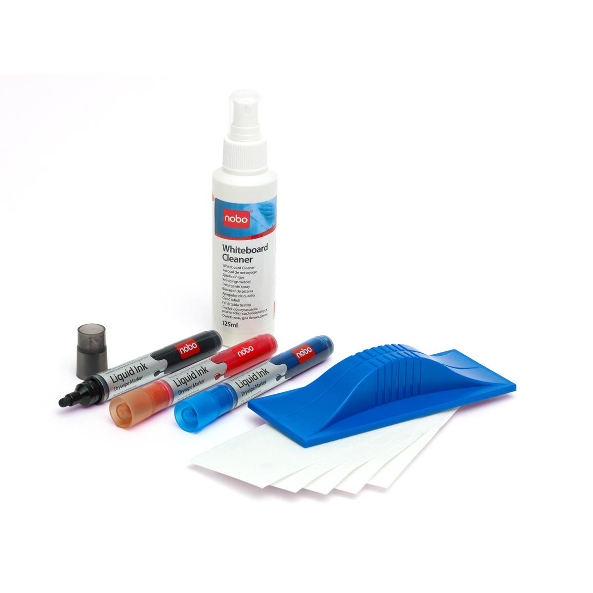 Nobo 34438861 Whiteboard Starter Kit