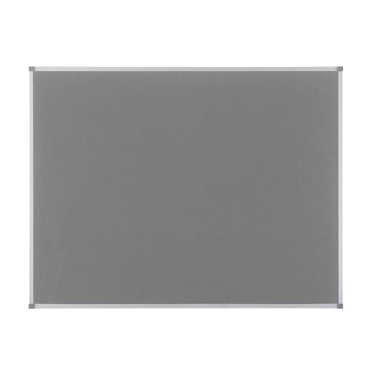 Nobo 1900912 Classic Grey Felt Noticeboard 1200 x 900mm