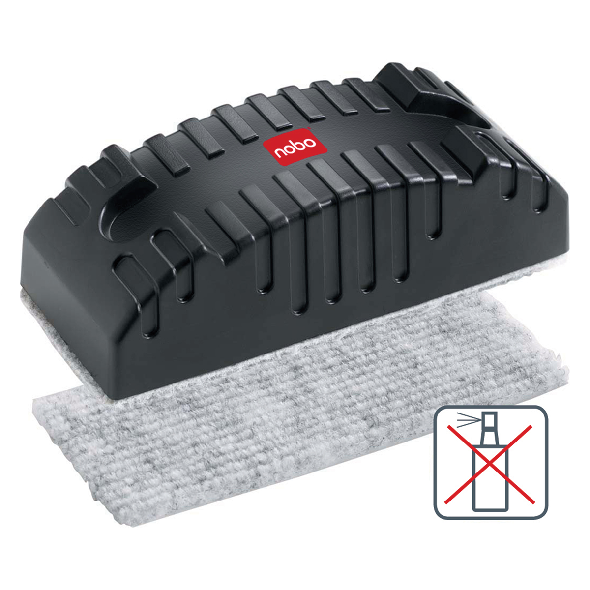 Nobo 34533421 Magnetic Whiteboard Erasers