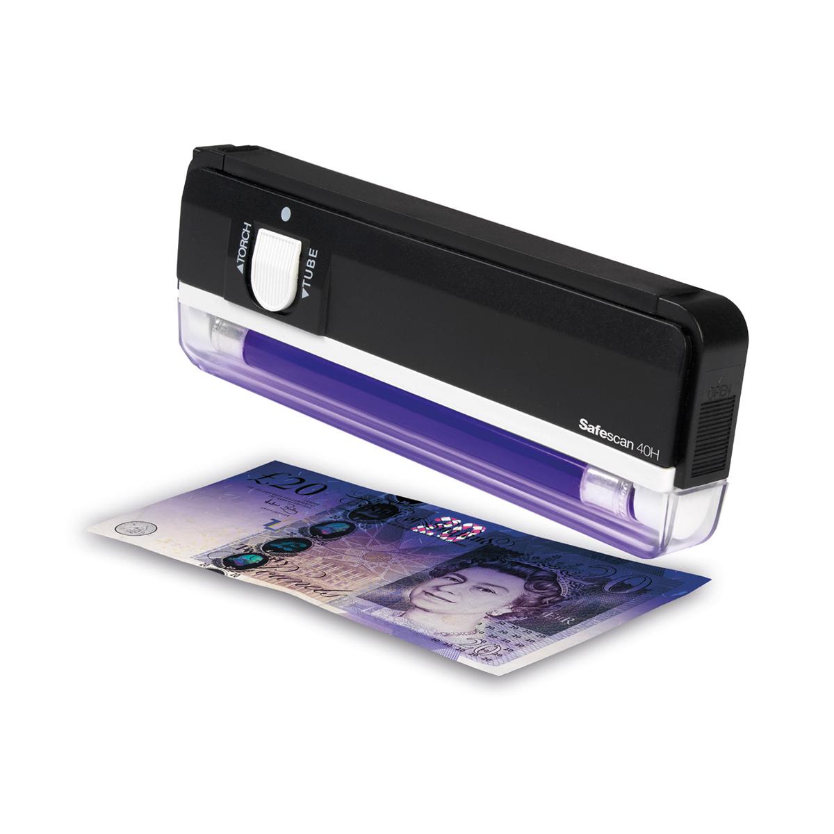 Safescan 40H Handheld UV Counterfeit Detector