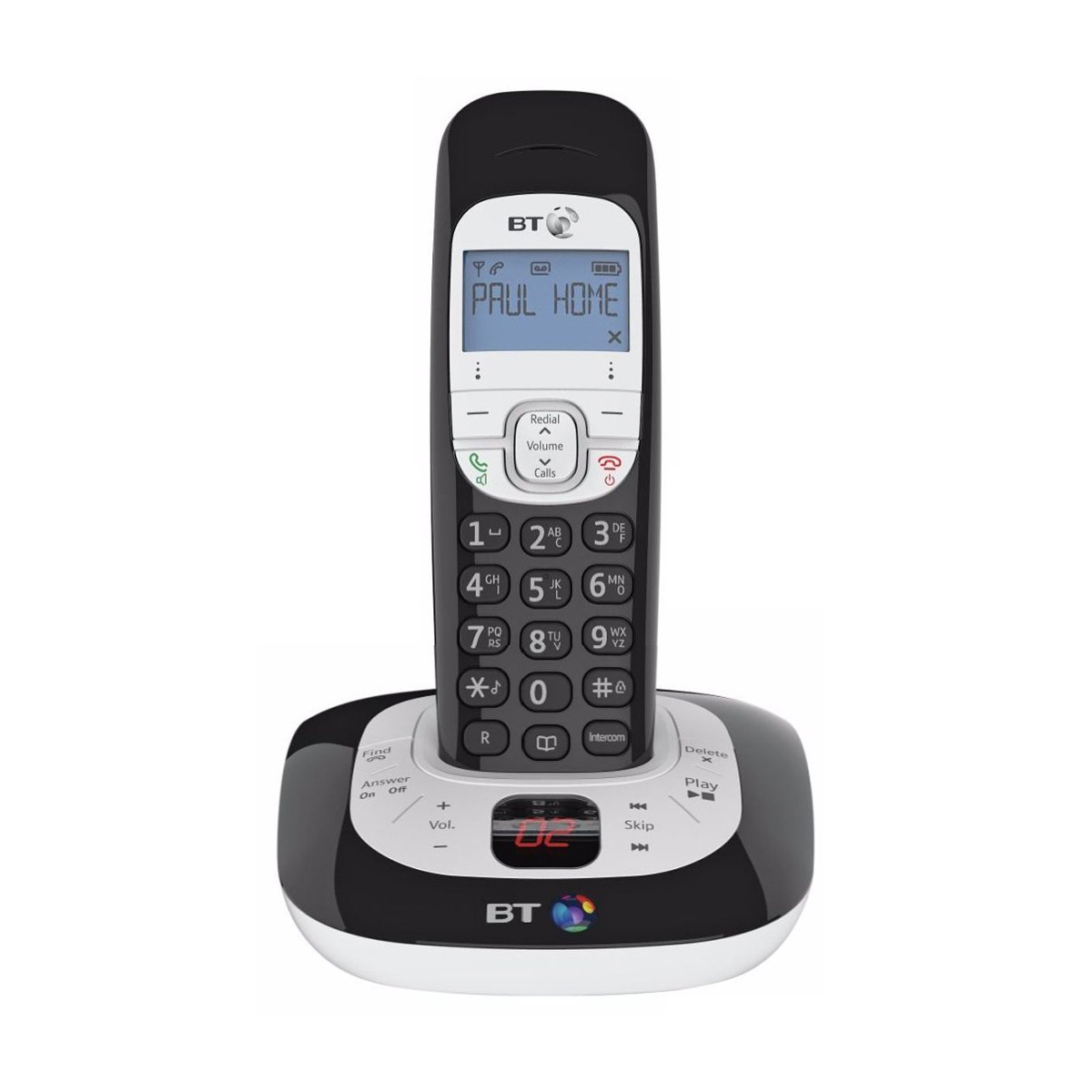 BT BT3550 Single DECT TAM Telephone