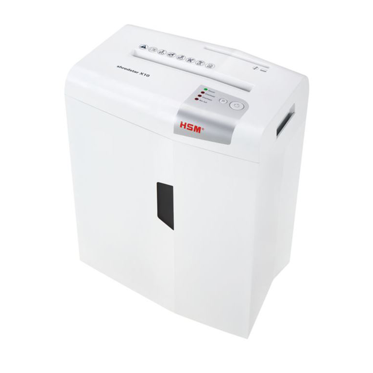HSM Shredstar X10 4.5 x 30mm Cross Cut Shredder White