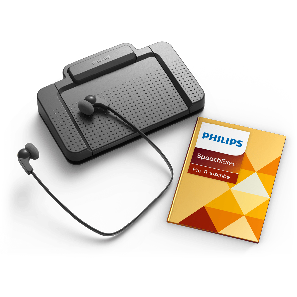 Philips LFH7277 SpeechExec Pro Transcription Kit and Software
