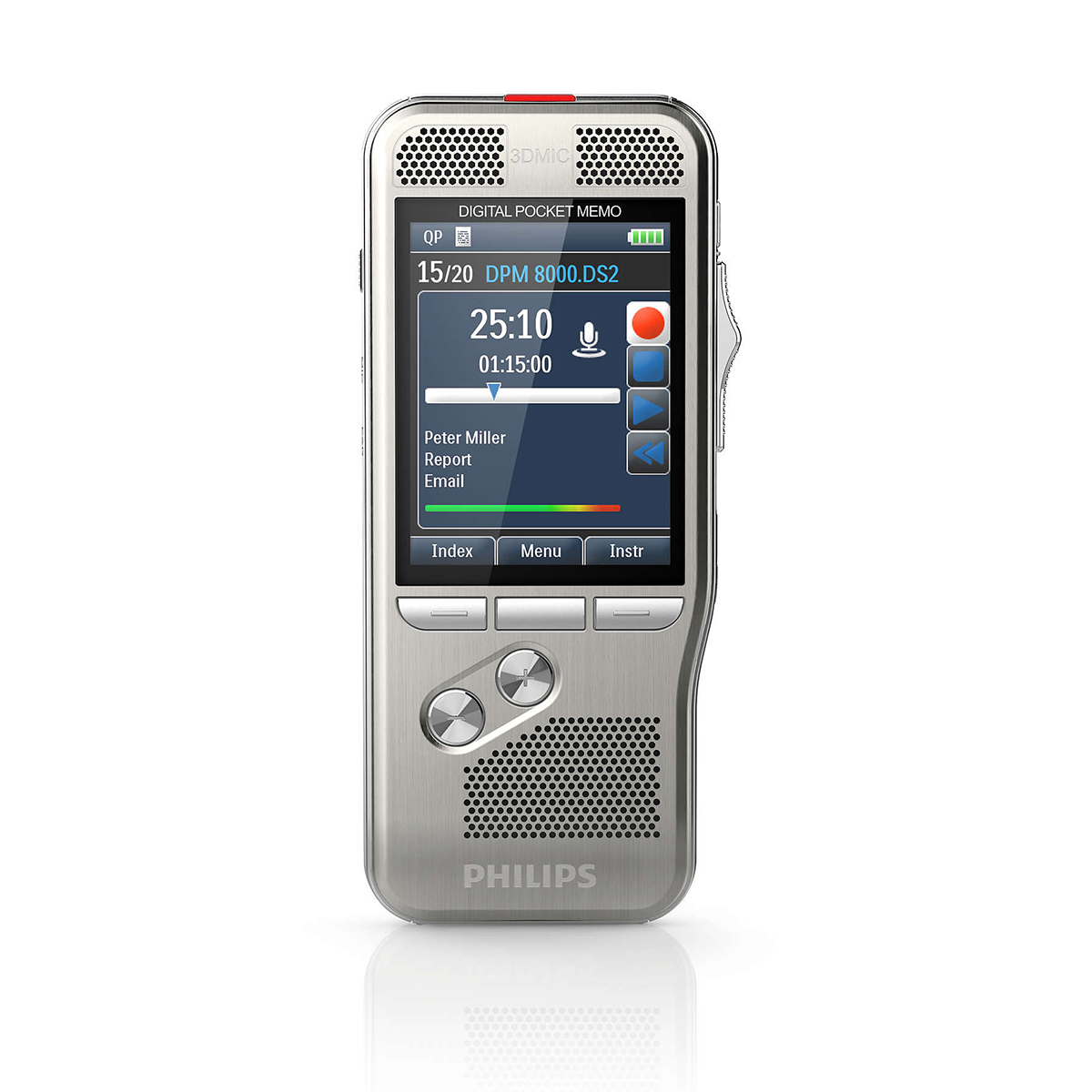 Philips DPM8000 Pocket Memo