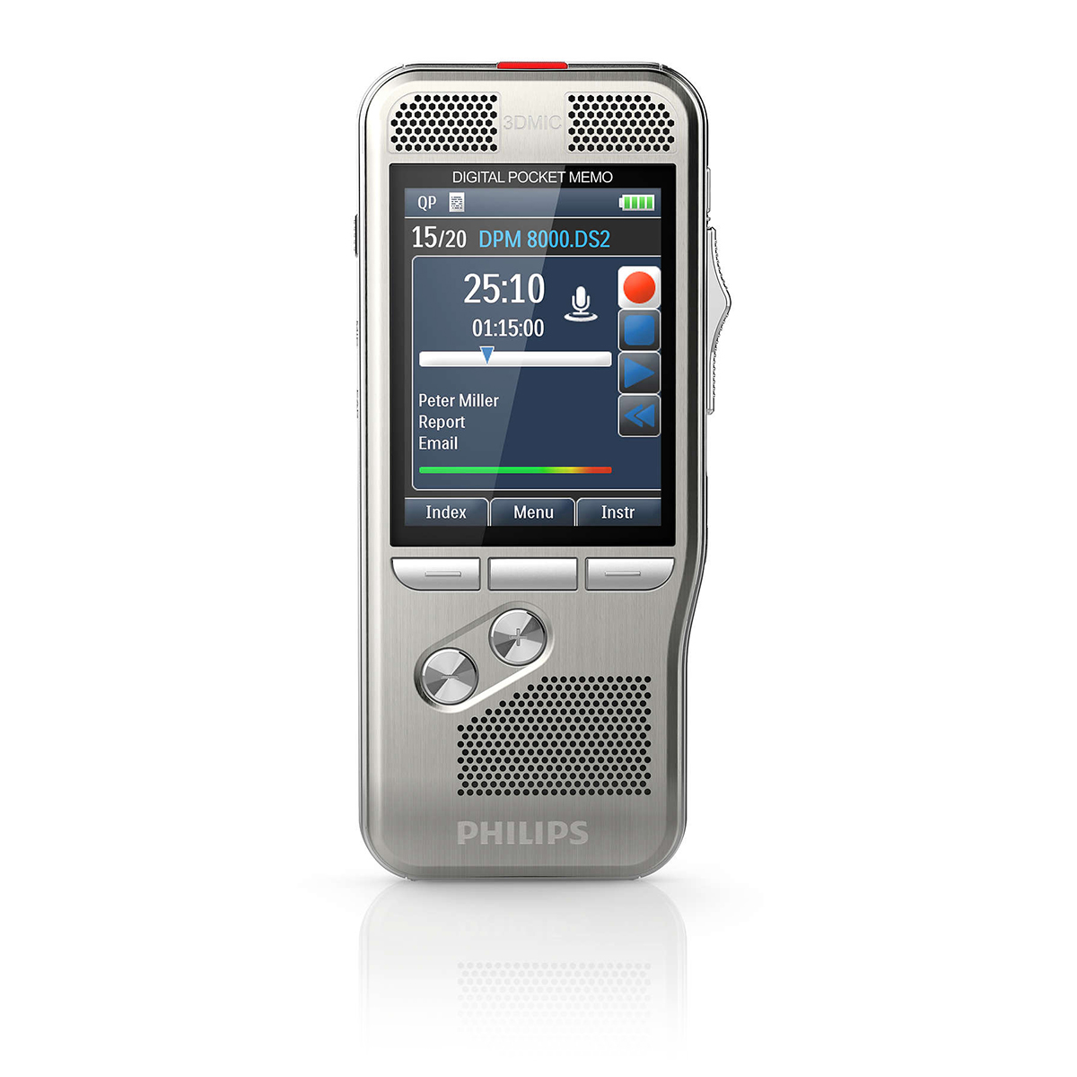 Philips DPM8200 Pocket Memo