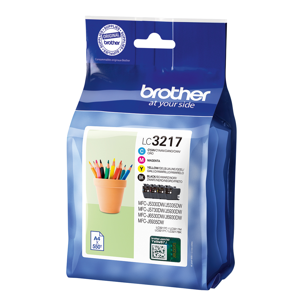 Brother LC3217 Value Pack