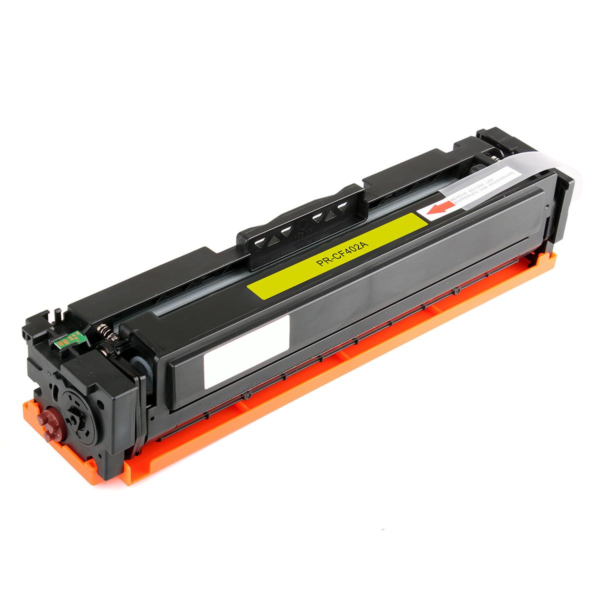 HP CF402A Compatible Yellow Toner Cartridge