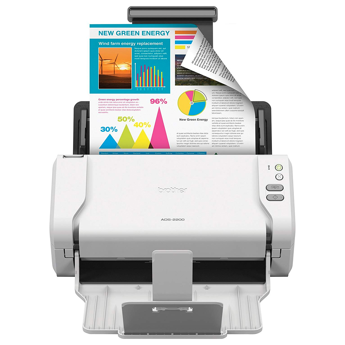 Brother ADS-2200 Desktop Scanner