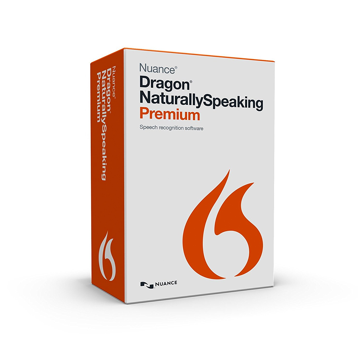 Nuance Dragon NaturallySpeaking Premium 13.0 International English Upgrade Brown Bag