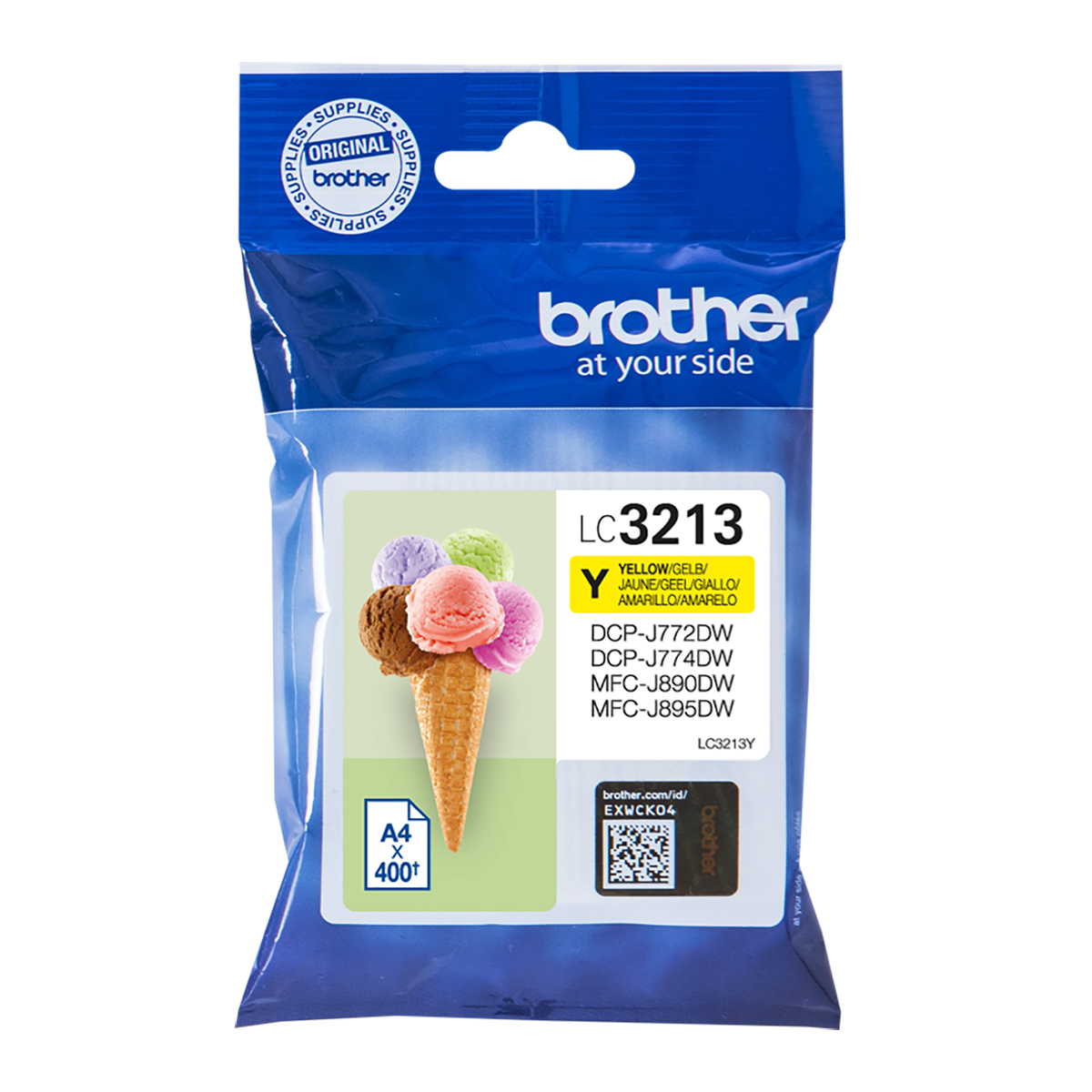Brother LC3213Y High Yield Yellow Ink Cartridge