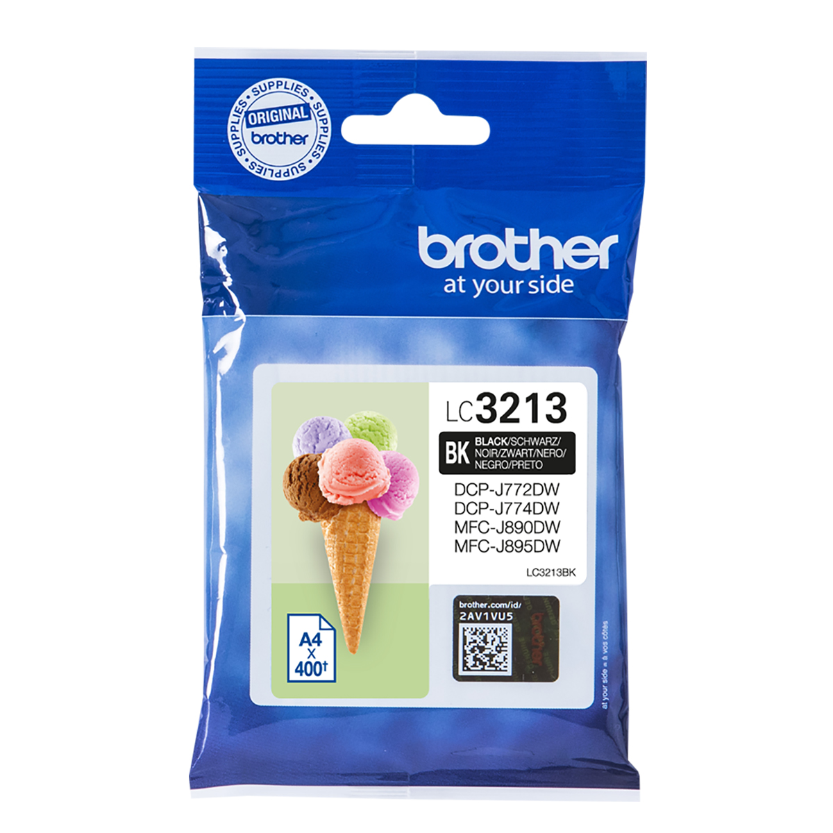 Brother LC3213BK High Yield Black Ink Cartridge