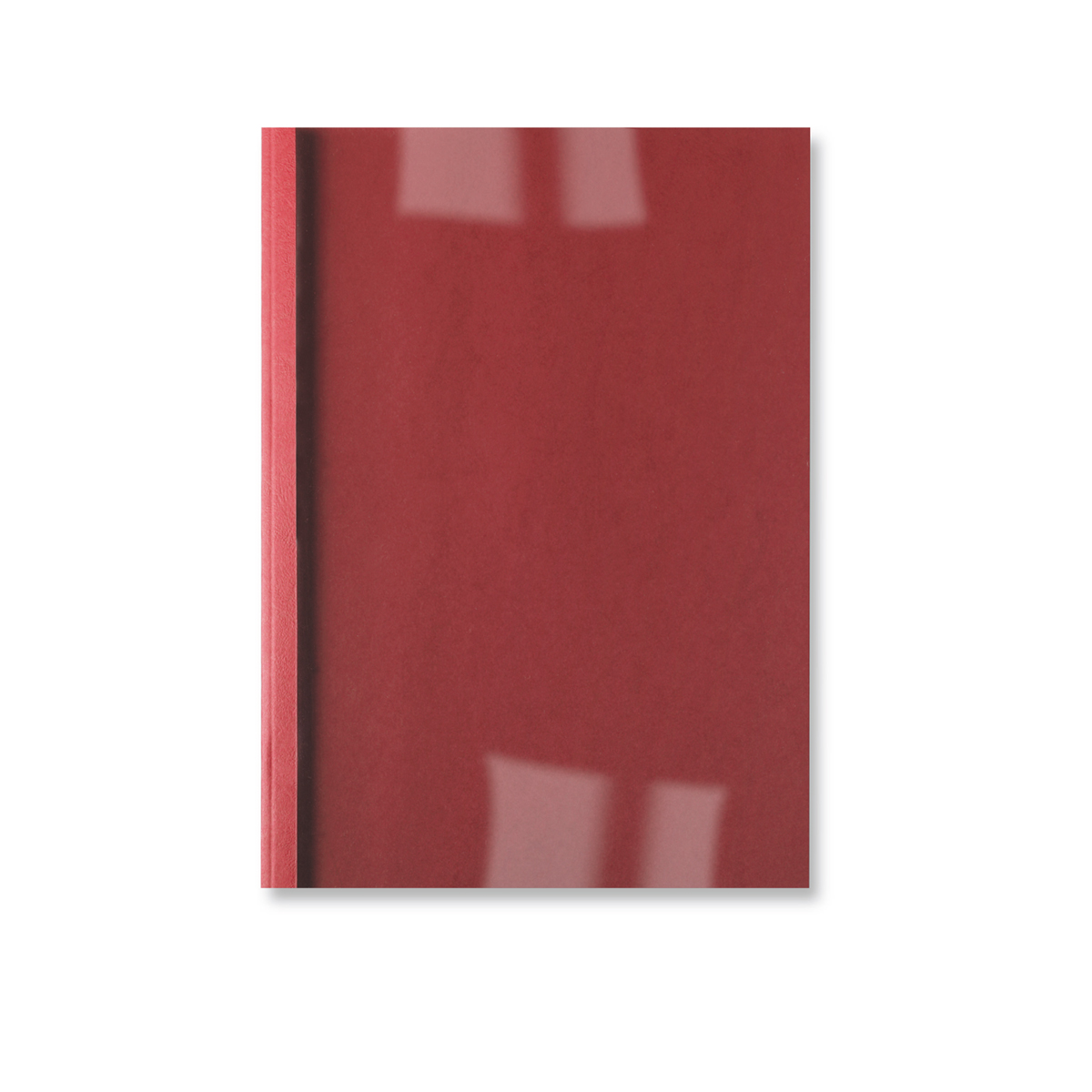 GBC IB451218 Leathergrain A4 Thermal Binding Covers Red Pack of 100