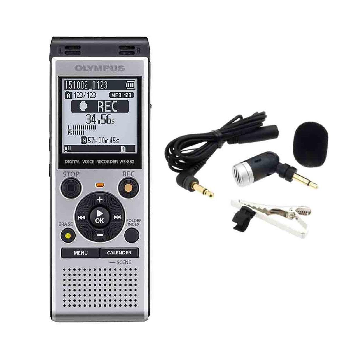 Olympus WS-852 4GB Digital Notetaker with ME52 Microphone