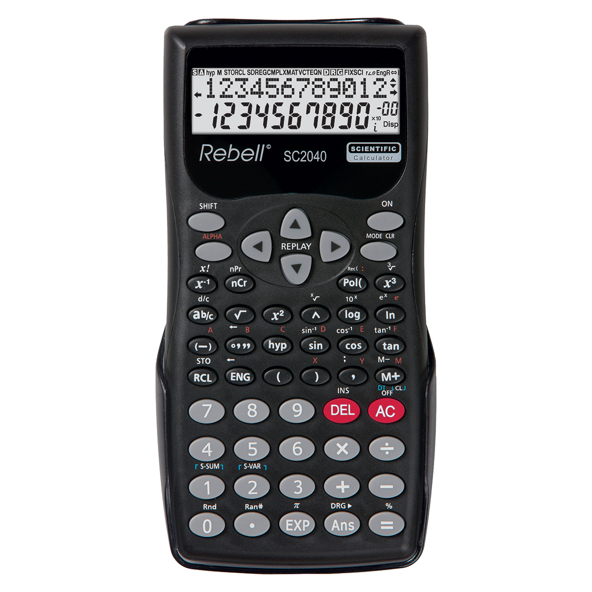 Rebell SC2040 Scientific Calculator