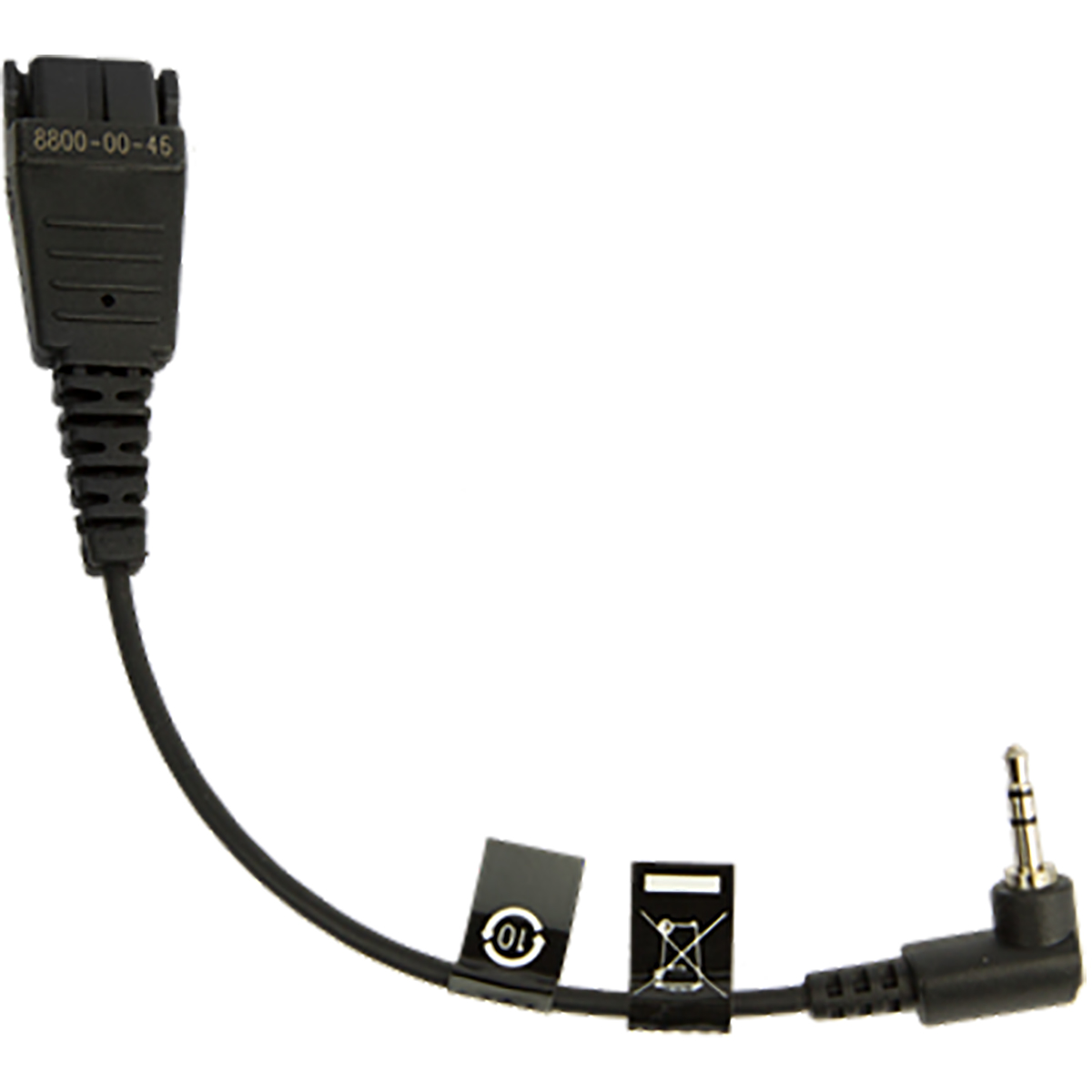 Jabra Dect cellular Bottom Cord QD to 2.5mm Jack