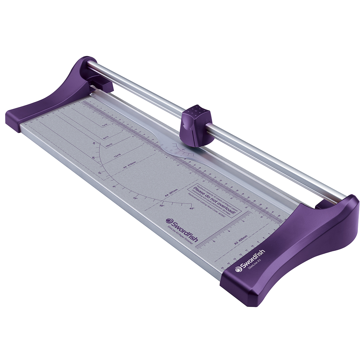 Swordfish Slimline Paper Trimmer A3 Purple