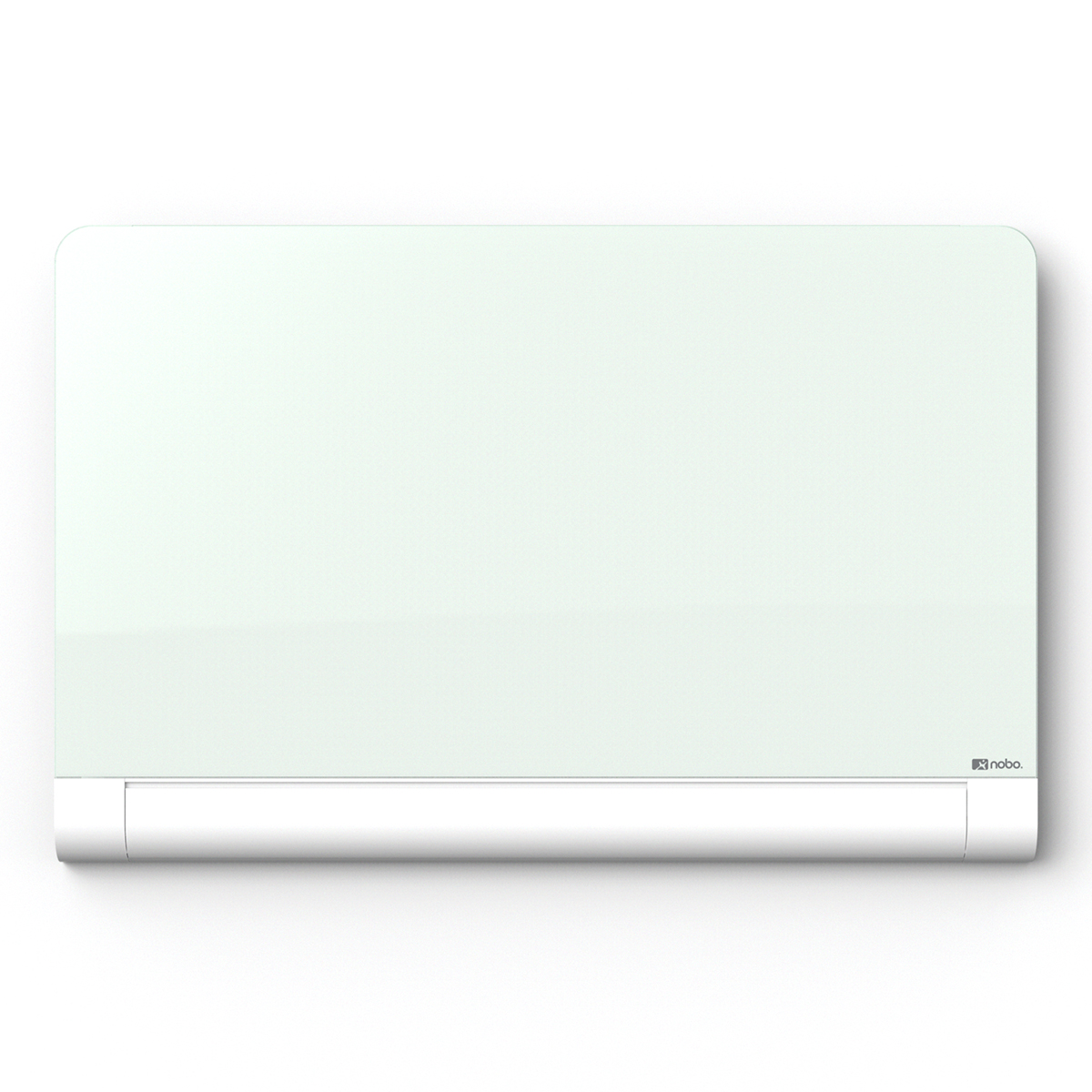 Nobo 1905193 Diamond Glass Magnetic Whiteboard with Rounded Corners 1883 x 1059mm