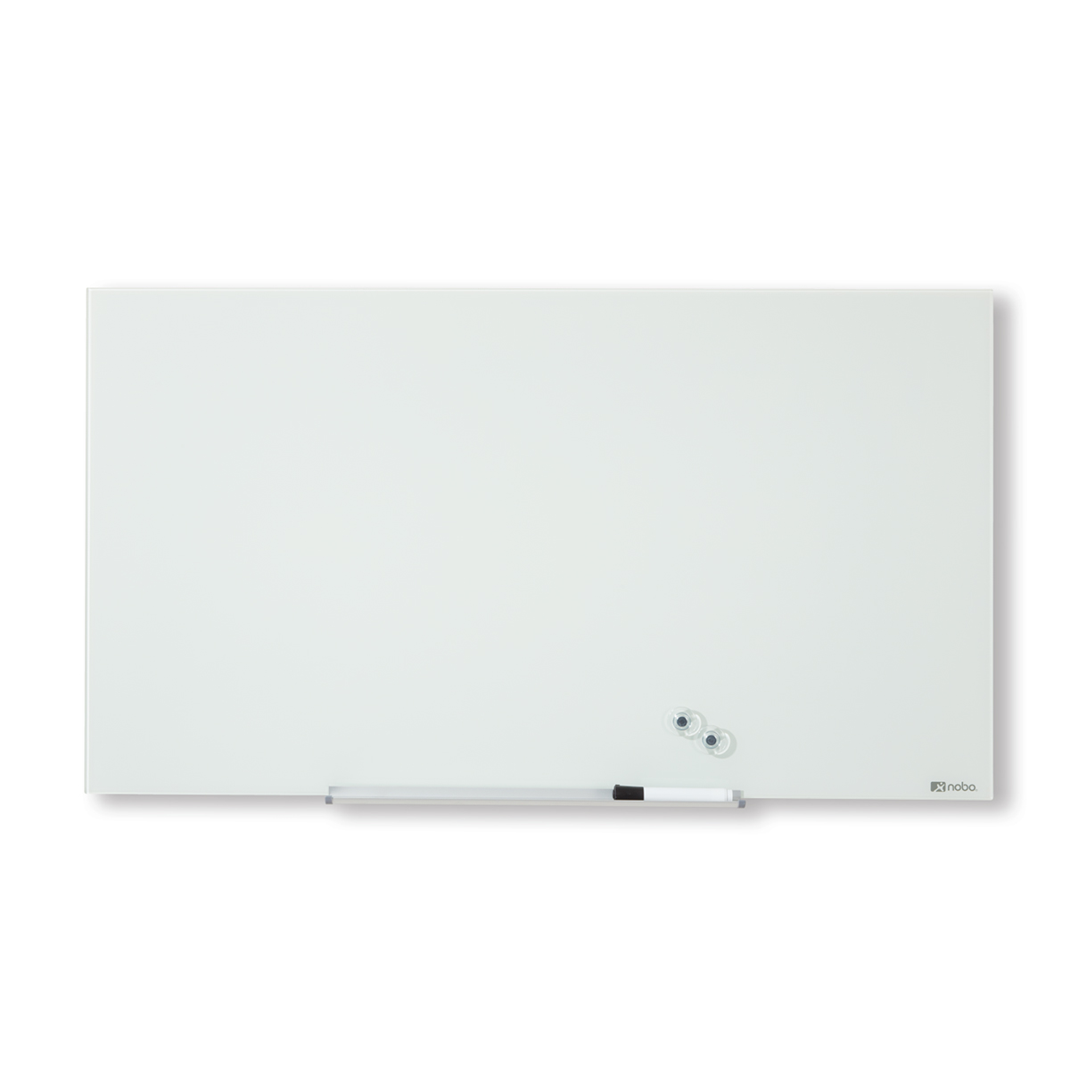 Nobo 1905175 Diamond Glass Whiteboard 667 x 381mm