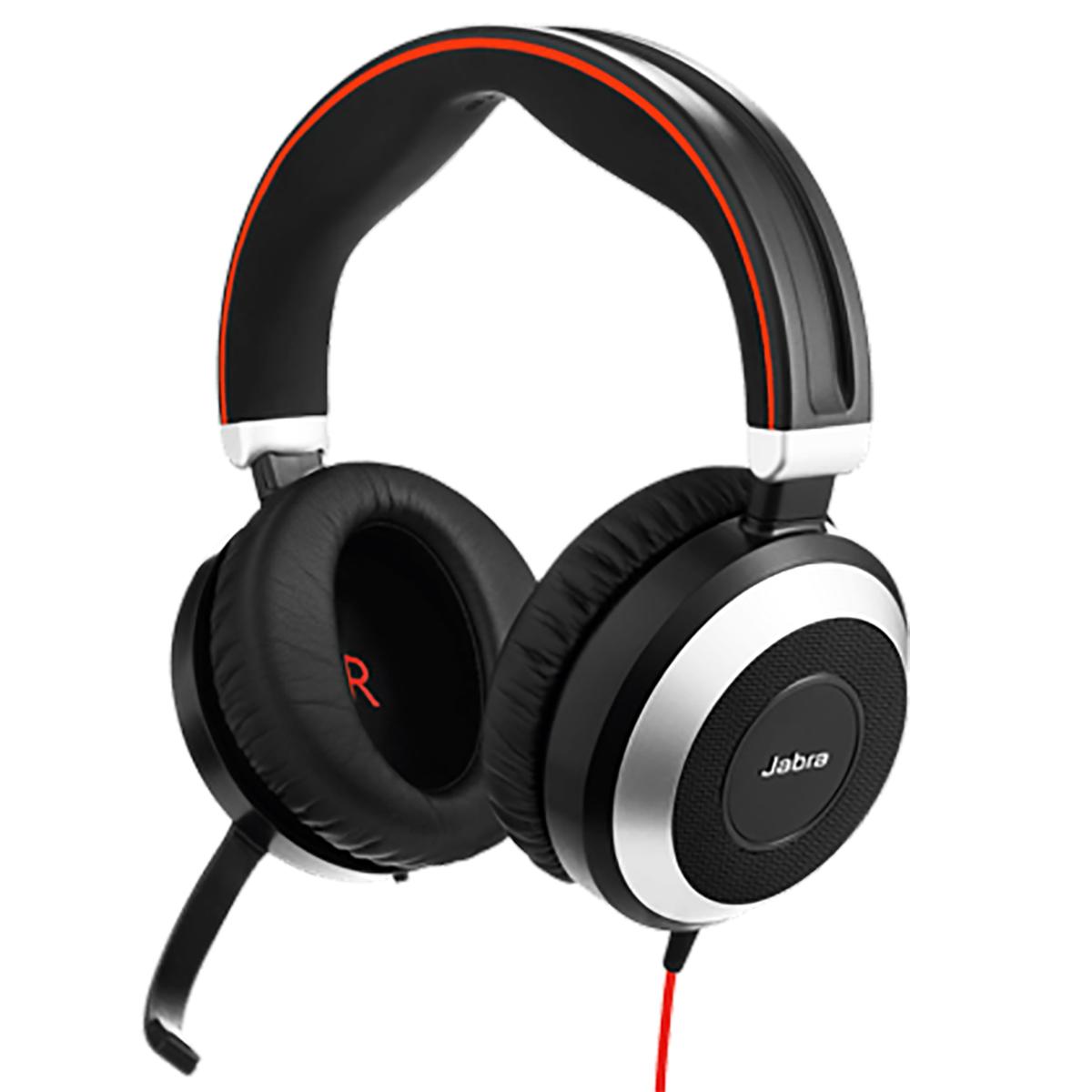 Jabra Evolve 80 UC Stereo NC Headset